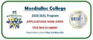 2020 SEAL Exam Registration Image